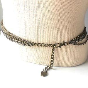 Vintage Chain Belt 3 tone color